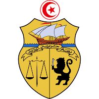 Logo Gambar Lambang Simbol Negara Tunisia PNG JPG ukuran 200 px