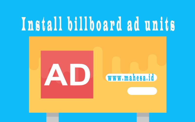 Membuat Unit Iklan Billboard