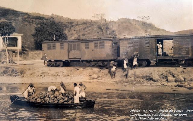 """Estrada de Ferro de Mangaratiba - O trem """"Macaquinho"""""""