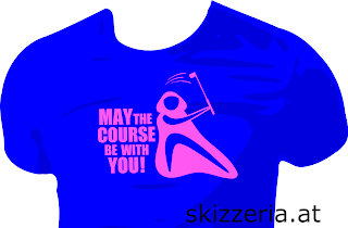 May the course be with you Disc Golf Shirt Golf Shirt