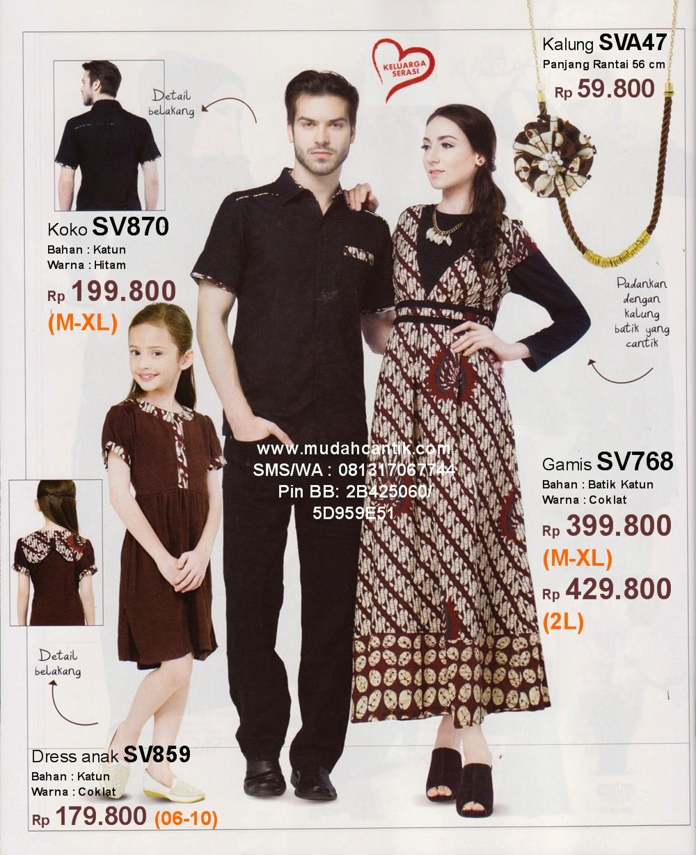Sarimbit Keluarga Muslim  Savero Fashion by Rika SMSWhatsApp