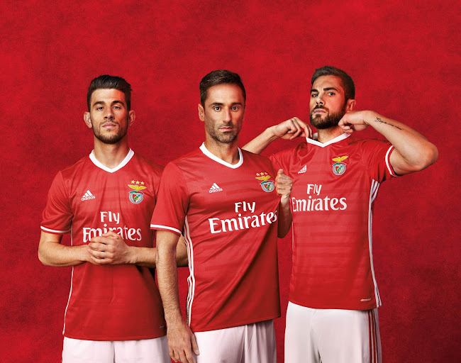 online store 15d2e 59f69 Benfica 16-17 Home & Away Kits Released - Footy Headlines