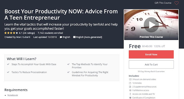 Boost Your Productivity NOW