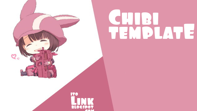 Kumpulan Chibi Template Responsive Blogger