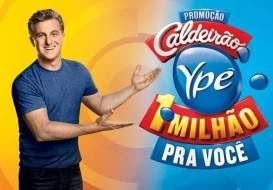 Cadastrar Promoção Produtos Ypê Caldeirão 1 Milhão Pra Você Código Produtos Cupom