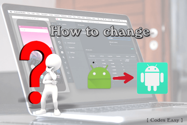 Edit Default Application Icon or the ic_launcher image In Android Studio