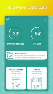 تطبيق Auto Move To SD Card لنقل الملفات من الهاتف إلى بطاقة الذاكرة