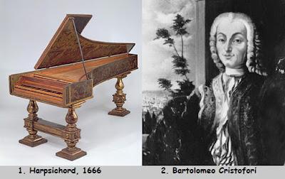 Biografi Bartolomeo Cristofori - Penemu Piano  Bartolomeo Cristofori di Francesco lahir pada tanggal 4 Mei 1655, merupakan seorang pembuat alat musik Italia, sekaligus sebagai penemu instrumen piano. Cristofori lahir di Padua, Republik Venesia. Tidak ada yang diketahui dari kehidupan awalnya. Ada peristiwa yang paling penting dalam hidup Cristofori yang terjadi pada tahun 1688, saat usianya mencapai 33 tahun, ia direkrut untuk bekerja pada Pangeran Ferdinando de Medici.   Ferdinando adalah seorang pangeran pecinta dan pelindung musik, anak, dan ahli waris dari Cosimo III, Grand Duke of Tuscany. Ferdinando sedang mencari teknisi baru untuk mengurus banyak instrumen musiknya karena pegawai sebelumnya baru saja meninggal. Namun, tampaknya pangeran ingin mempekerjakan Cristofori tidak hanya sebagai teknisi, tetapi secara khusus sebagai inovator dalam instrumen musik.   Hal ini tidak mengejutkan jika Cristofori pada usia 33 tahun sudah menunjukkan bakat sebagai inventor yang menjadikannya terkenal. Akhir dari abad ke-17, Cristofori telah menemukan dua instrumen keyboard sebagai pendahuluan sebelum ia memulai karyanya pada piano. Instrumen ini didokumentasikan dalam inventarisasi yang tercatat pada tahun 1700, dari sekian banyak instrumen yang disimpan oleh Pangeran Ferdinando.   Piano paling awal ciptaan Cristofori disebut pianoforte. Seperti yang ditulis dalam sebuah catatan oleh seorang penyair
