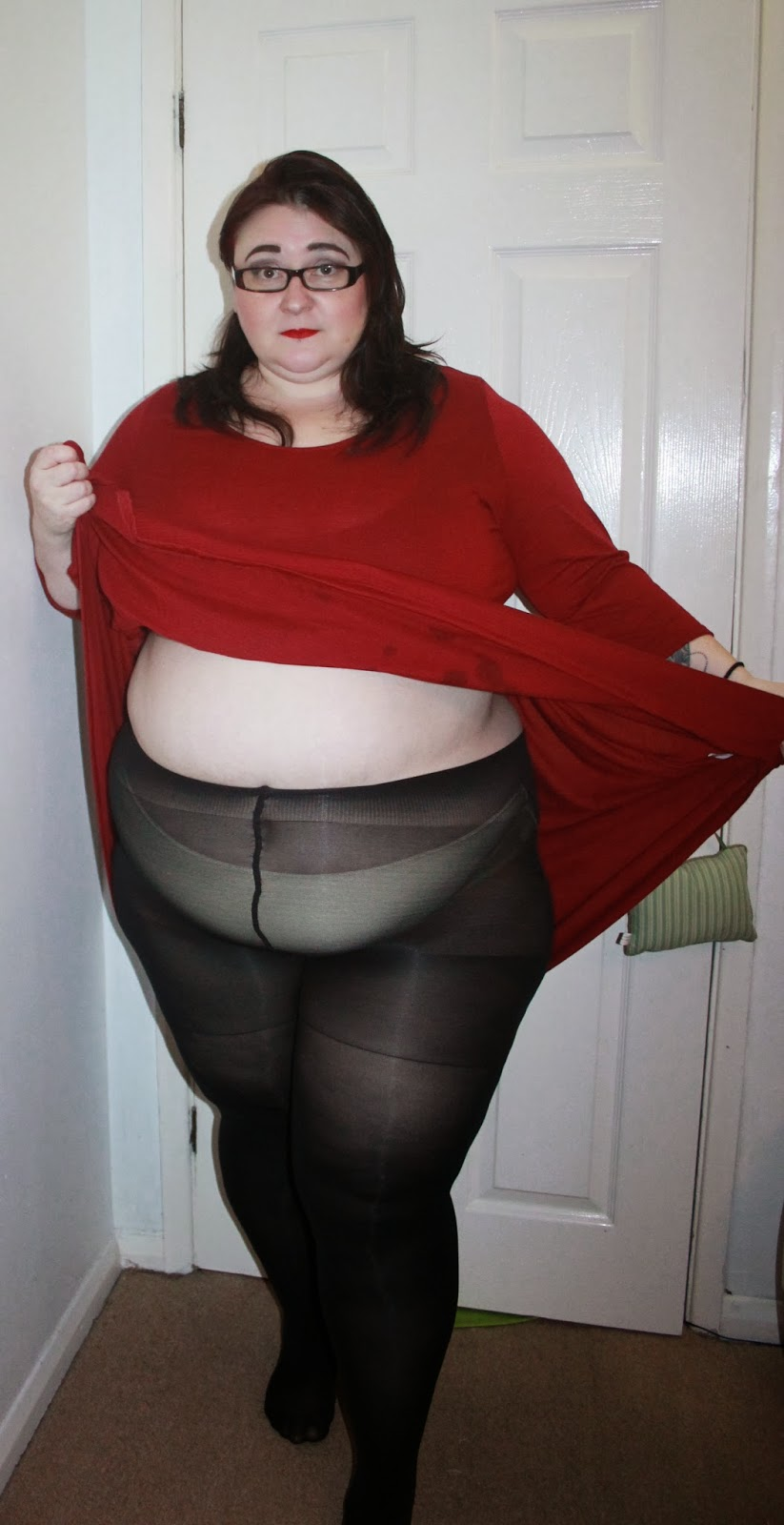 Bbw In Tights 74