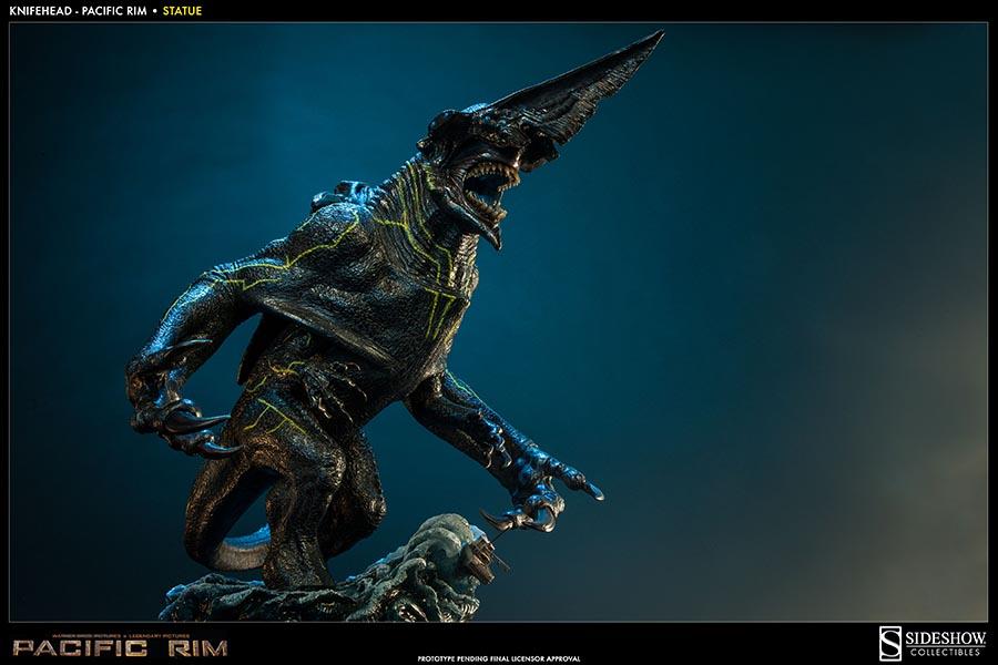 Kaiju Battle: Pacific Rim : SideShow Collectibles ... Pacific Rim Kaiju Knifehead