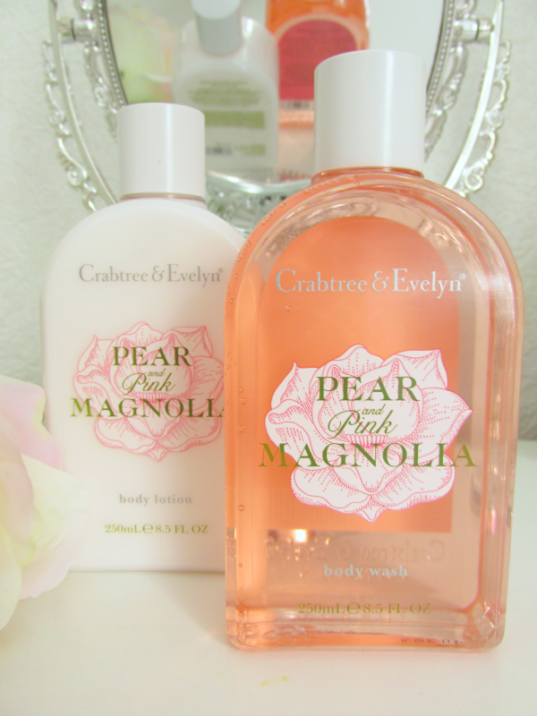 Crabtree & Evelyn Pear and Pink Magnolia  Testbericht