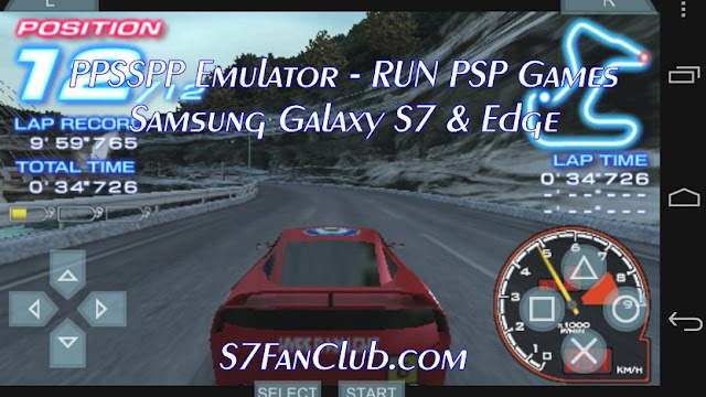 Download Galaxy S7 PPSSPP PSP Emulator APK Free Download