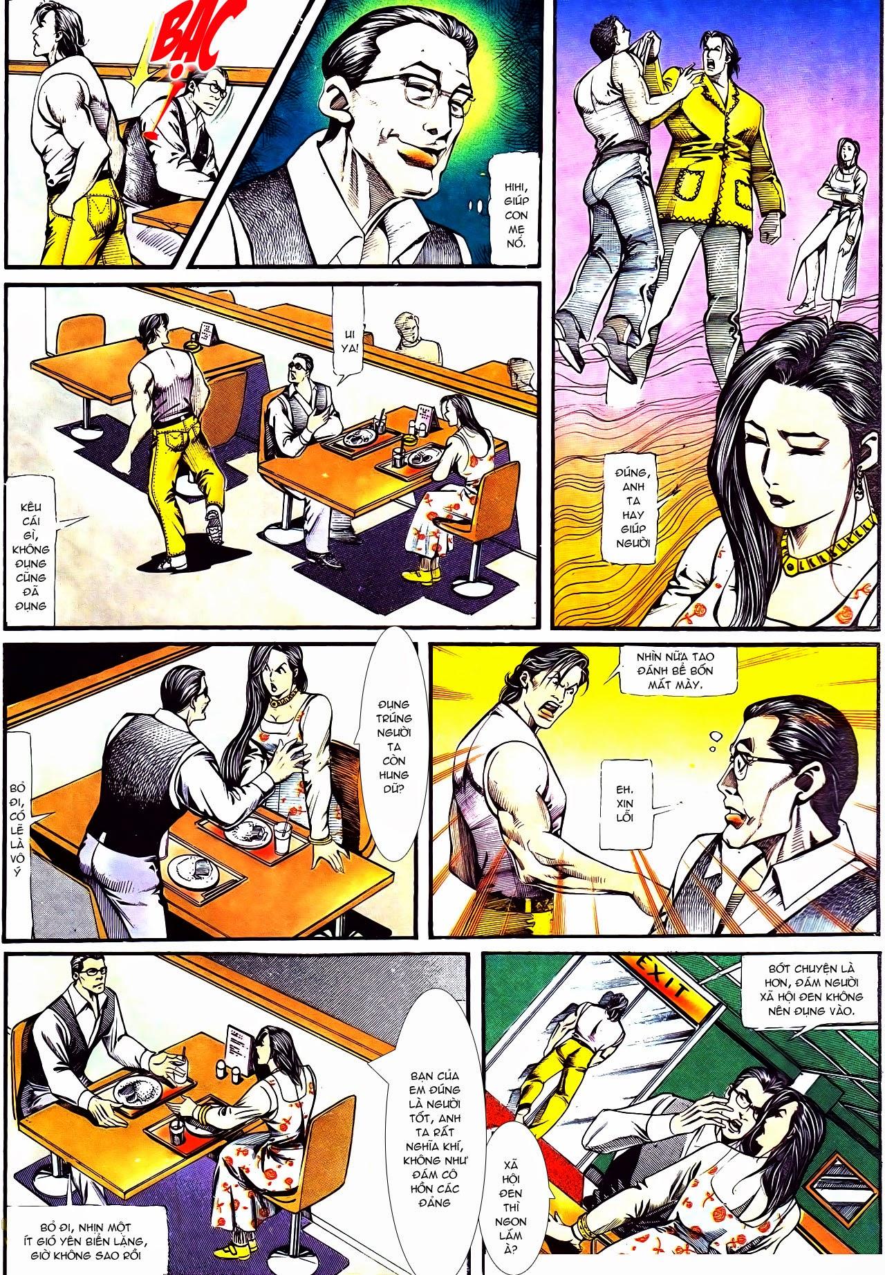 Người Trong Giang Hồ chapter 122: phố dục lạc trang 11