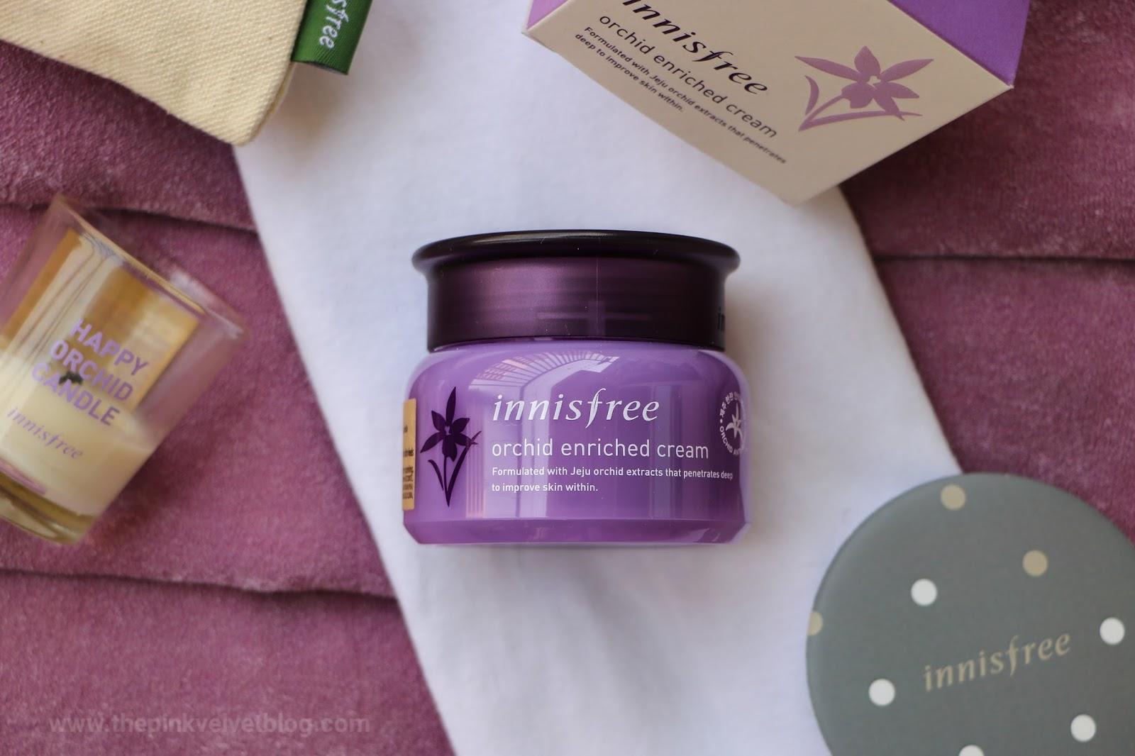 Innisfree Orchid Enriched Cream Review - The Pink Velvet Blog - Niharika Verma