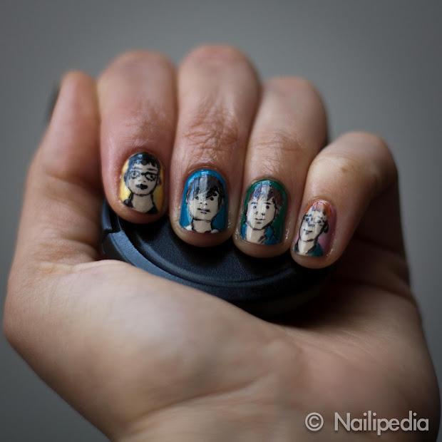 nailipedia nail art blur julian