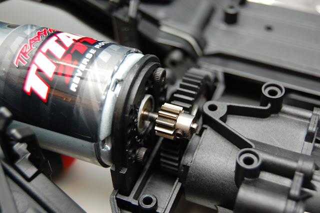 Traxxas TRX-4 gear mesh