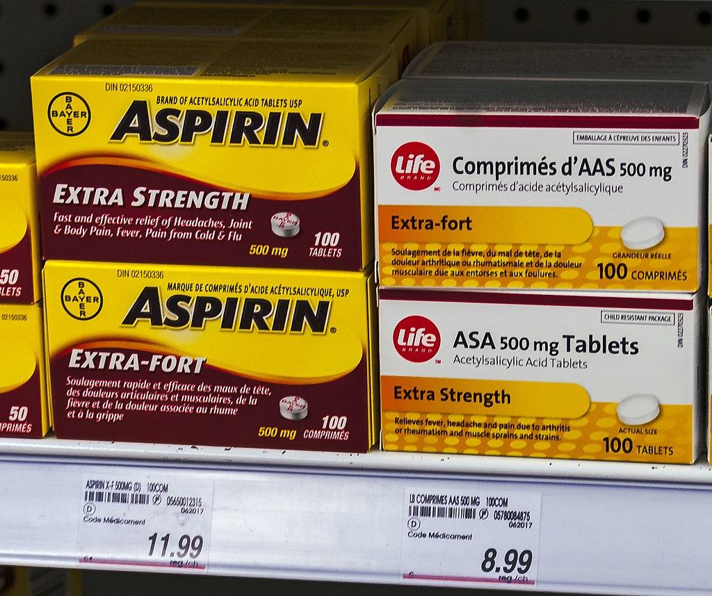 a aspirina ajuda a curar úlceras de perna