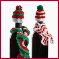 adornos para botellas