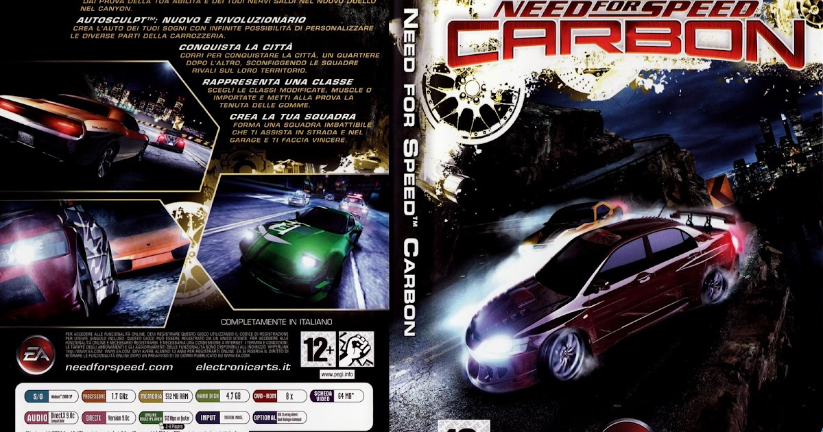 need for speed carbon pc iso download