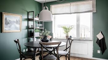 Para el 2019 el color verde oscuro será una tendencia en interiores del hogar