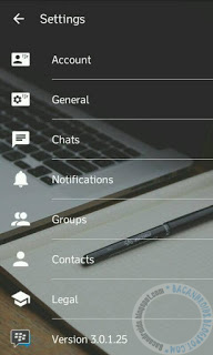 BBM Mod Transparant Theme Terbaru New Style versi 3.0.1.25 Apk For Android