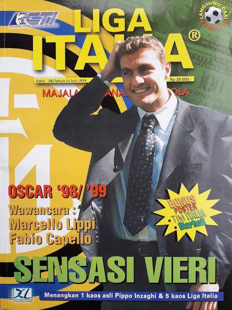 MAJALAH LIGA ITALIA: SENSASI VIERI