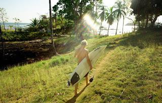 Surfing w Santa Catalina w Panamie