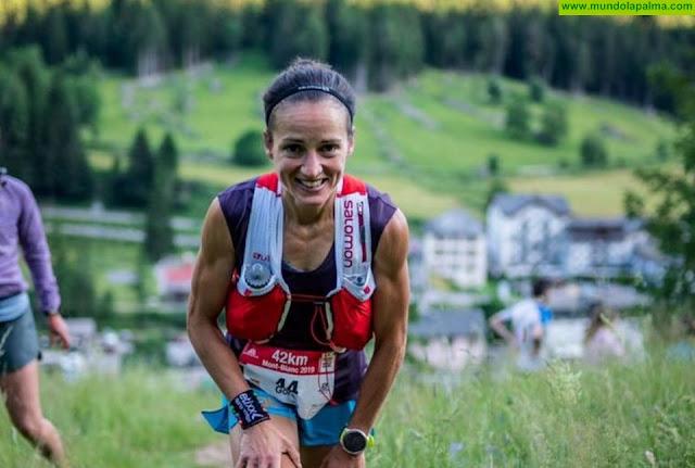 Eli Gordón fija la Maratón de Transvulcania como uno de sus principales objetivos para 2020