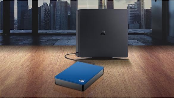 Seagate lança disco rígido de 4 TB para o PlayStation 4