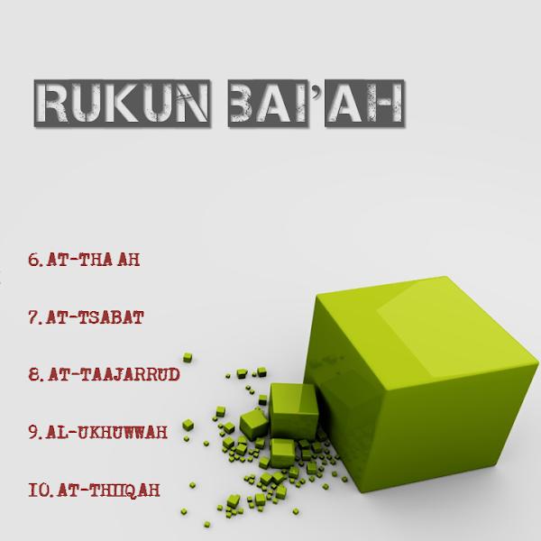 RUKUN BAIAH HASAN AL BANNA (part 2)
