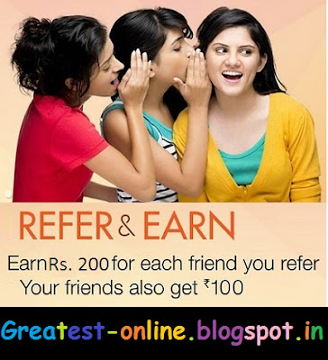 Refer and Earn Program by Amazon.in India