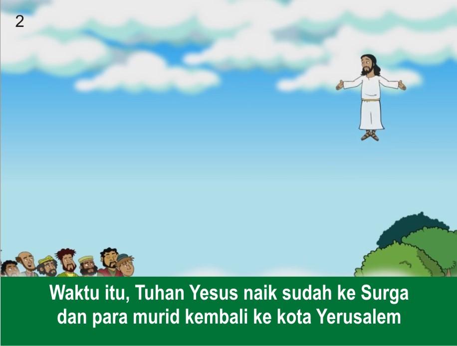 Komik Alkitab Anak Saulus Menjadi Paulus