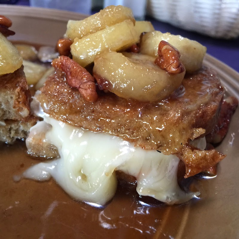 French Toast with Brie at The Shed in Las Cruces