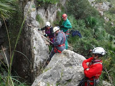 Avenc de la canal de la Comafreda  -Foto: Pilar García  -GAME