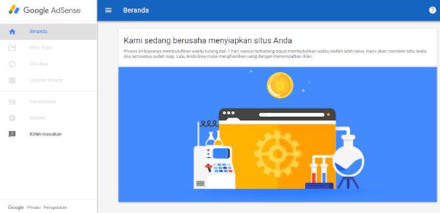 Cara Mendaftarkan Blog Ke Google Adsense Hosted Dengan Mudah
