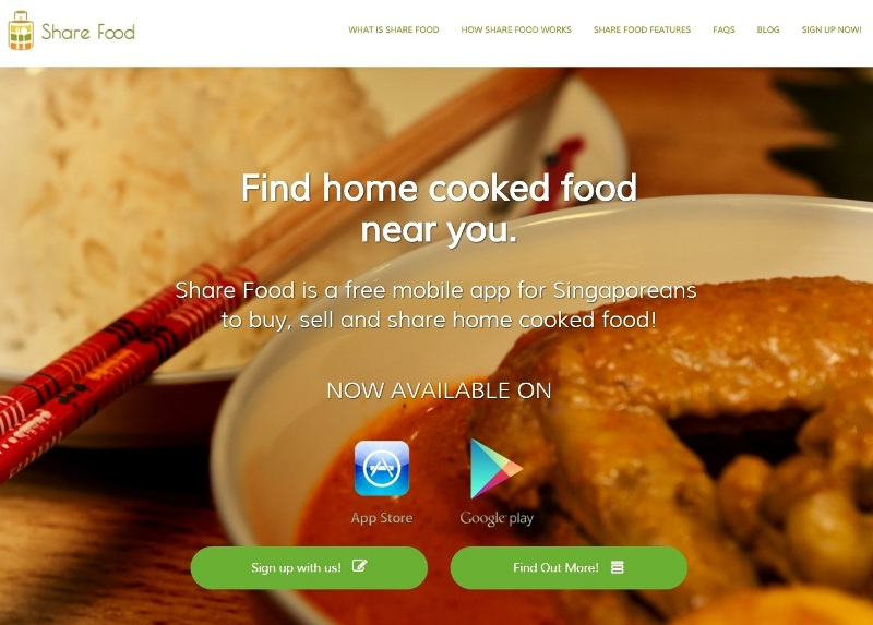 share food app for singaporeans buy-sell reviews