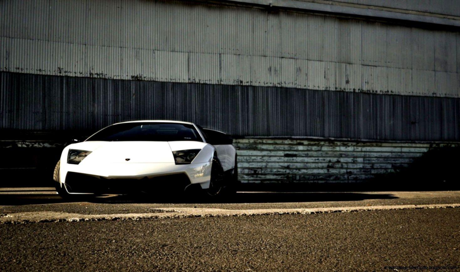 Lamborghini Murcielago Lp 670 4 Sv White Car Hd Wallpaper