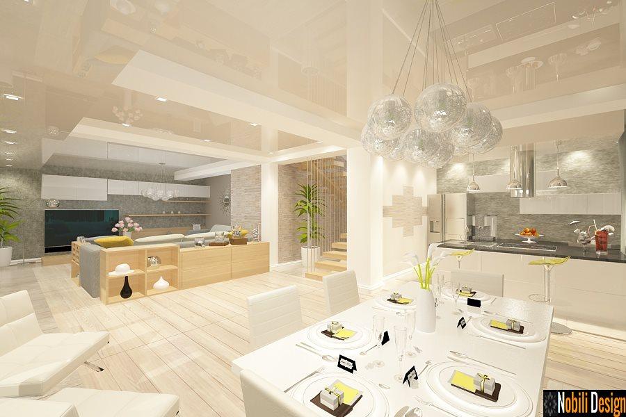 Design interior casa moderna in Constanta - Amenajari interioare case Constanta