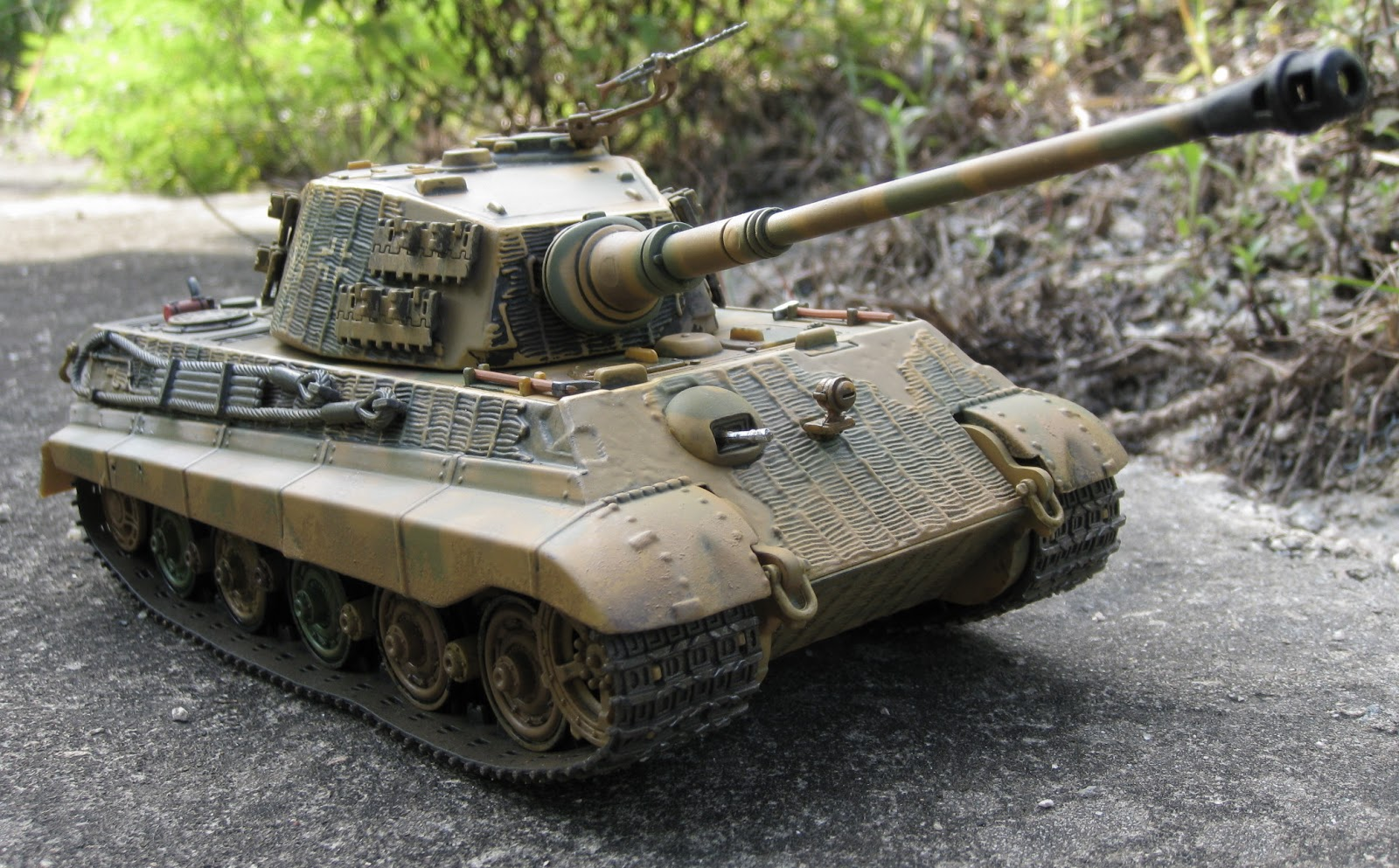 D-Day 70th Anniversary: King Tiger heavy tank awaits the