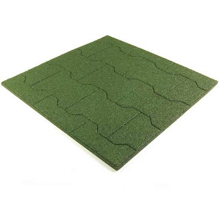 Greatmats rubber paver tile for barns