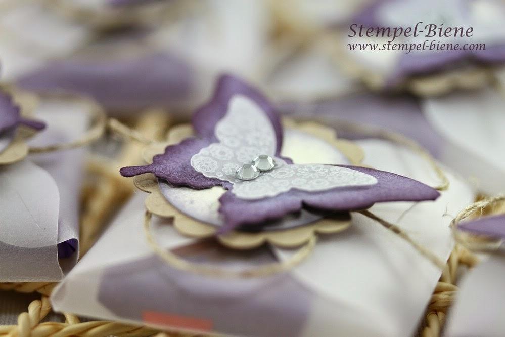 Stampin Up Envelope Punch Board, Goodies, Stanze Eleganter Schmetterling, Stanze Mini-Schmetterling, Papillon PotpourriStampin Up Recklinghausen Herten, Dortmund, Marl, Stempel-biene