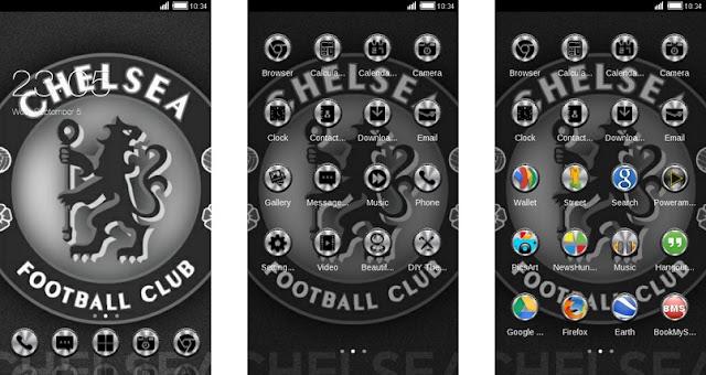 Download Tema Chelsea Android Keren & Gratis - Grey