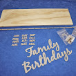 Family Birthday Calendar Kits