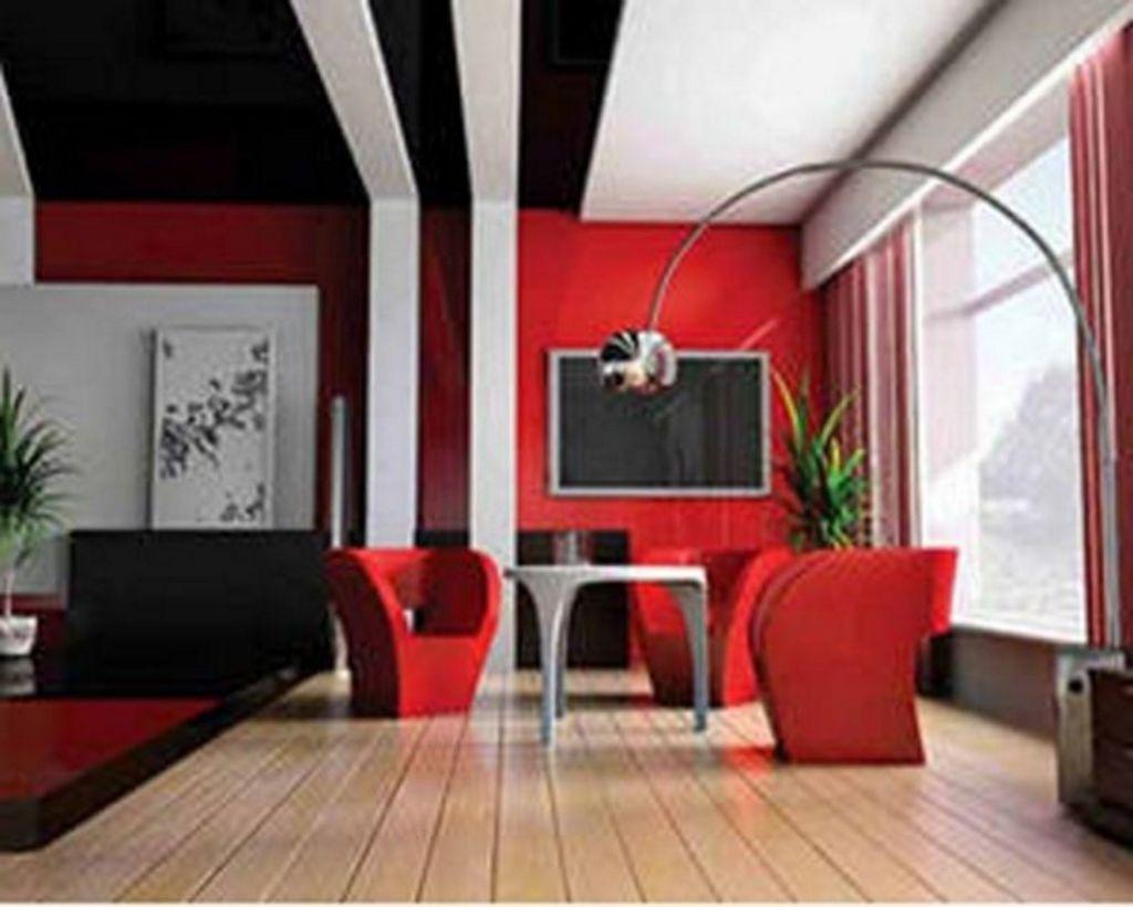 Desain Gabungan 2 Warna Cat Dinding Terlihat Menawan