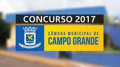 concurso Câmara de Campo Grande MS 2017