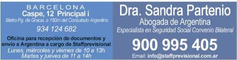 Staff Previsional: Gestiones en Argentina para Argentinos de Barcelona