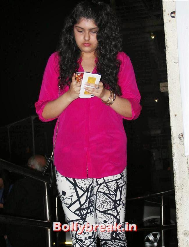 , Shazahn Padamsee at Special Screening of Highway