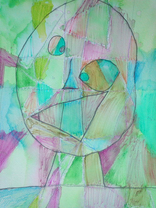 "Alternative Approach to Art Smart Lesson/Paul Klee's ""Head of a Man"": Elementary Grade (suggest 4th grade and up)"