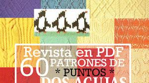 Revista con 60 Patrones de Puntos Dos Agujas / PDF Gratis