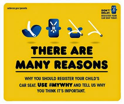 child passenger safety week infographic #mywhy